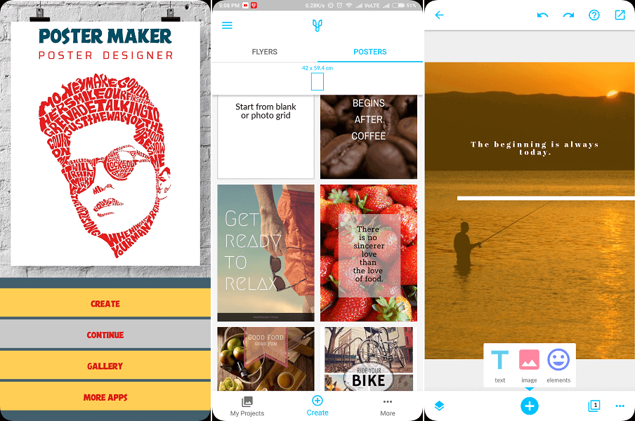 7 Best Poster Maker Apps And Sites For Android, iPhone, PC & Mac.