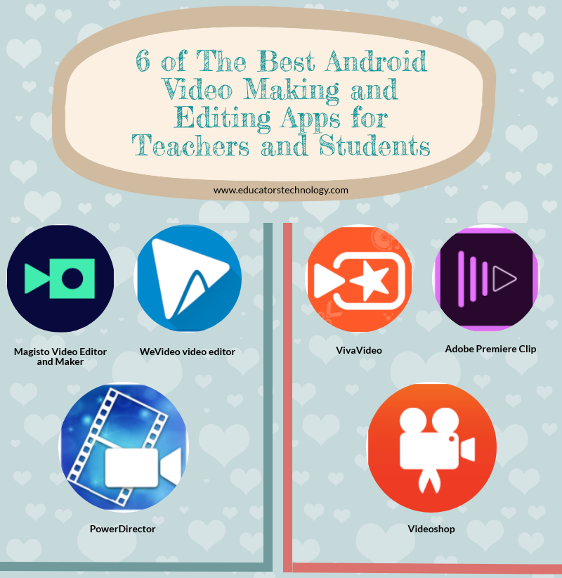 6 of The Best Android Video Making and Editing Apps for Teachers and.