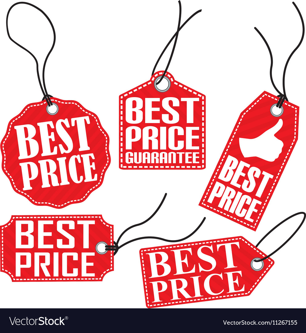 Best price red tag set.