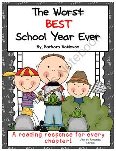 The Worst Best School Year Ever by Barbara Robinson: Characters.