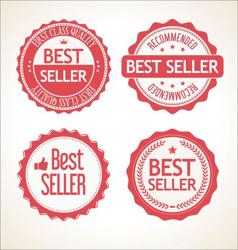 Best seller retro vintage badge and labels collection.
