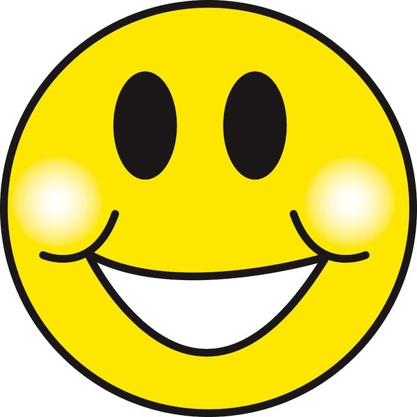 3908 Smile free clipart.