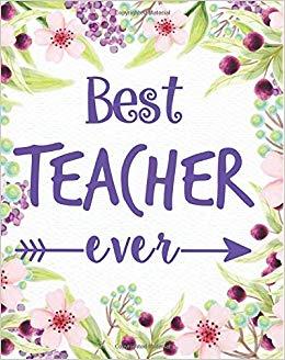 Best teacher ever: Teacher calendar Weekly and Monthly.