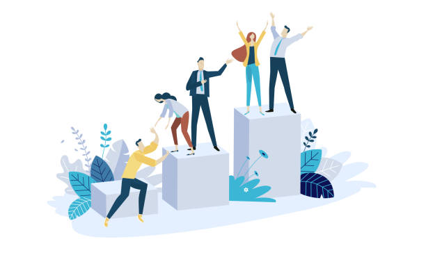 Best Team Builders Illustrations, Royalty.