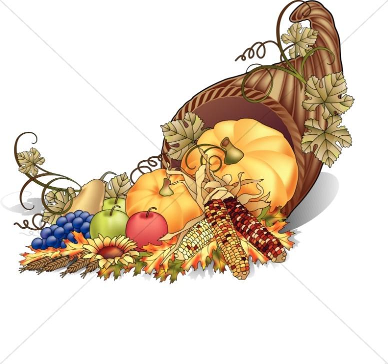 Thanksgiving Worship Clipart.