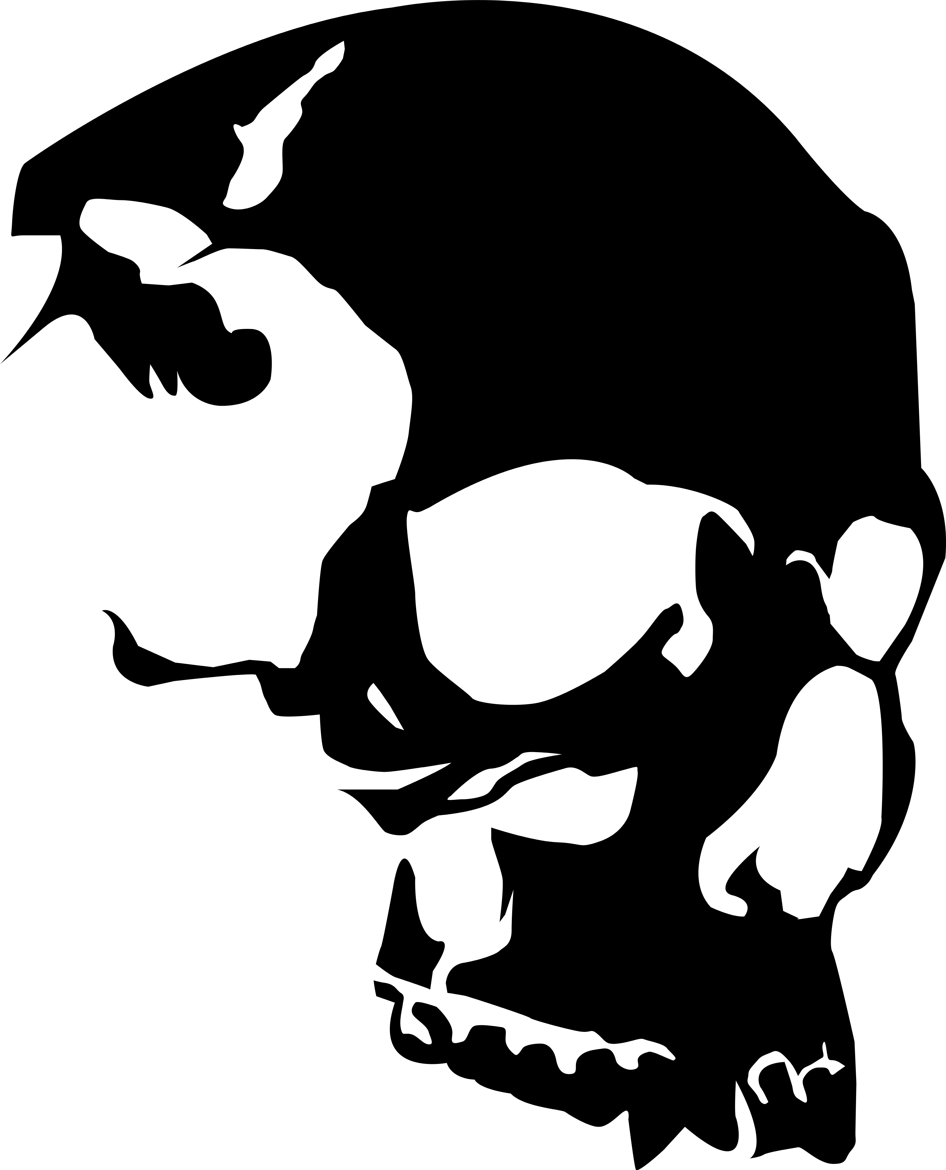 Free Skulls Vector, Download Free Clip Art, Free Clip Art on.
