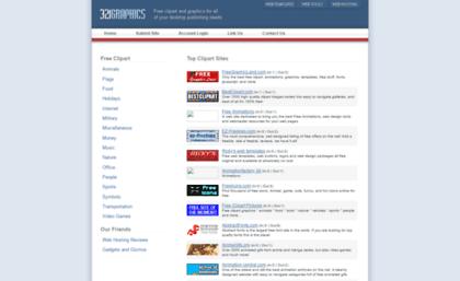 321graphics.com website. Free Clipart Images.
