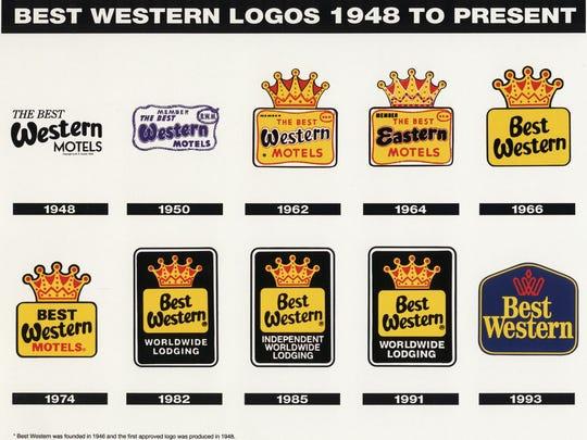 Best Western changing name, logos.