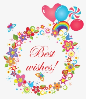 Free Best Wishes Clip Art with No Background.
