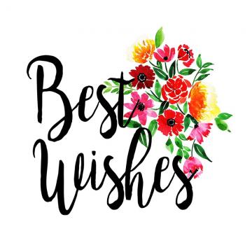 Best Wishes Png, Vector, PSD, and Clipart With Transparent.