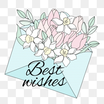 Best Wishes PNG Images.