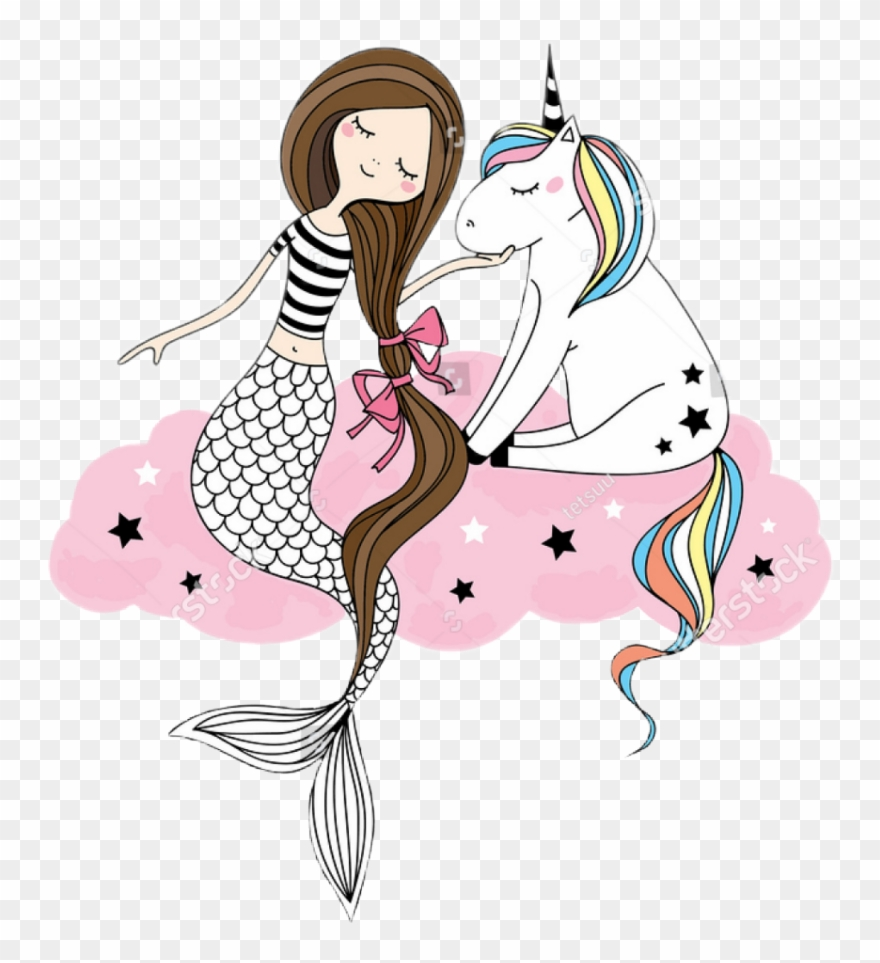 Unicorn Mermaid Bff Besties Bestfriend Bestfriends.
