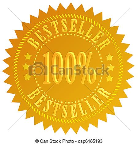 Bestseller sticker Clipart and Stock Illustrations. 2,793.