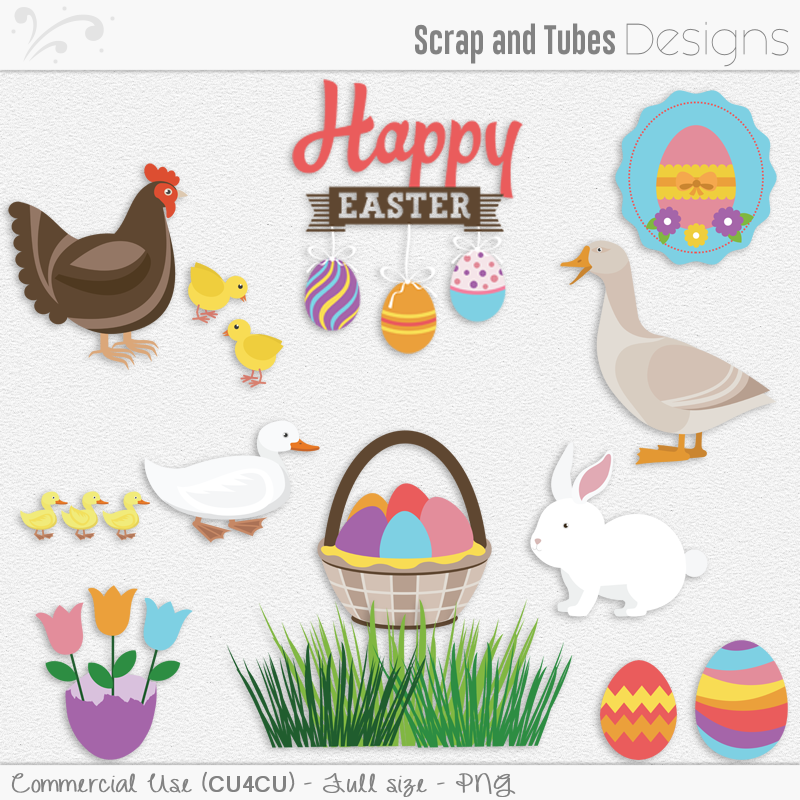 CLIPART : Scrap and Tubes Store, Digital Scrapbooking Supplies.