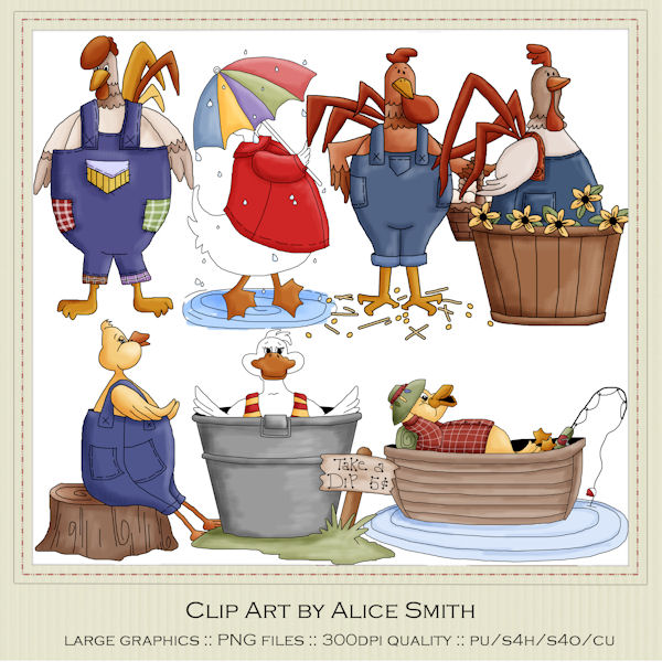 Farm Clip Art : Clip Art Designs, Commercial use products for.