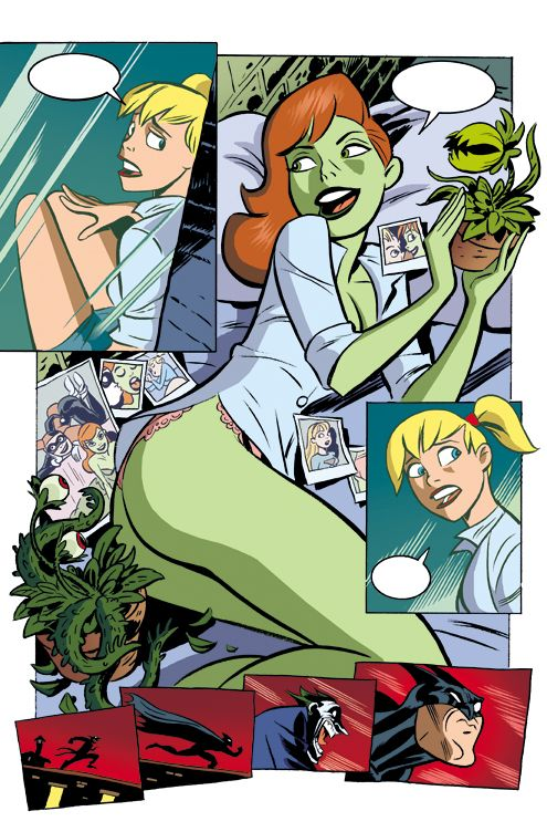 Harley and Ivy The Bet page 2 by ~EDarnes on deviantART.
