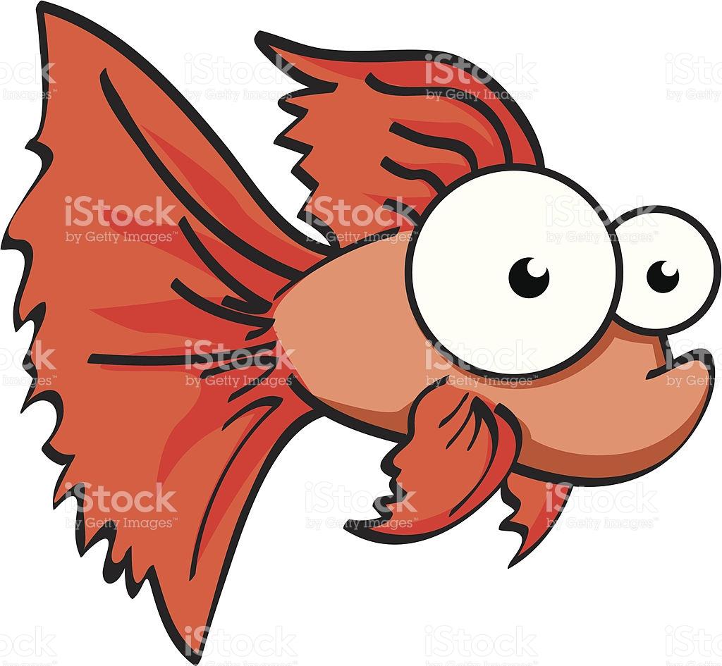 Showing post & media for Red betta fish cartoon.