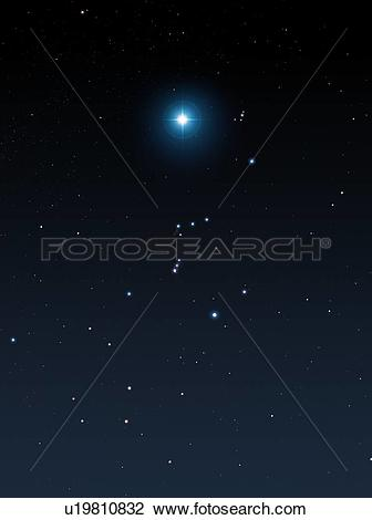 Stock Photo of Betelgeuse supernova, artwork u19810832.