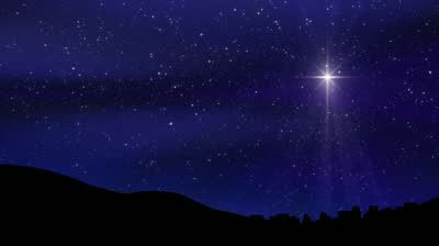 Star of Bethlehem Stock Footage Video (100% Royalty.