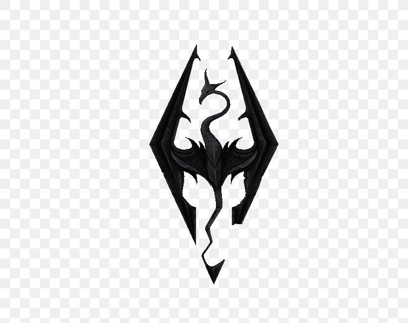 The Elder Scrolls V: Skyrim Logo Decal Video Game Mod, PNG.