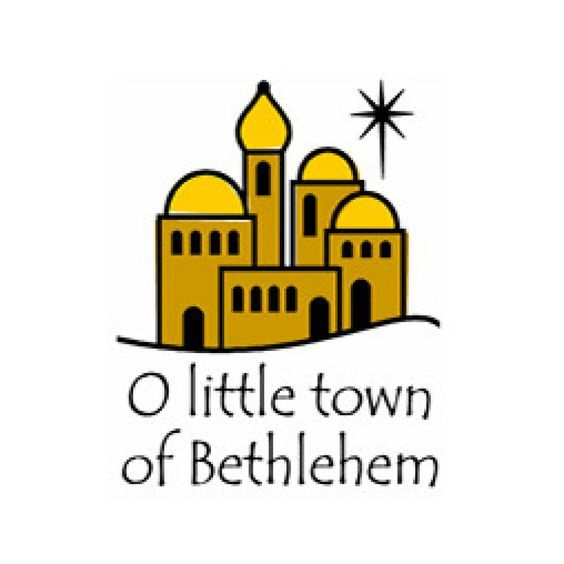 Inkwell Stamps O Little town of Bethlehem.