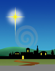 Night Bethlehem Clipart.