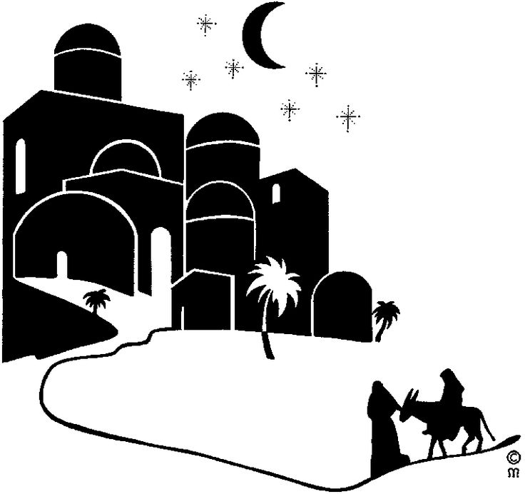 Bethlehem clipart bible city, Bethlehem bible city.