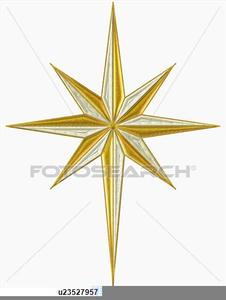 Star Over Bethlehem Clipart.