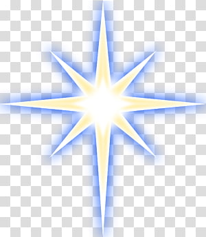 Star Of Bethlehem transparent background PNG cliparts free.