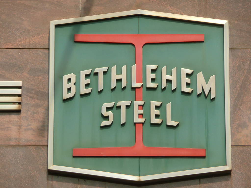 Bethlehem Steel Logo.