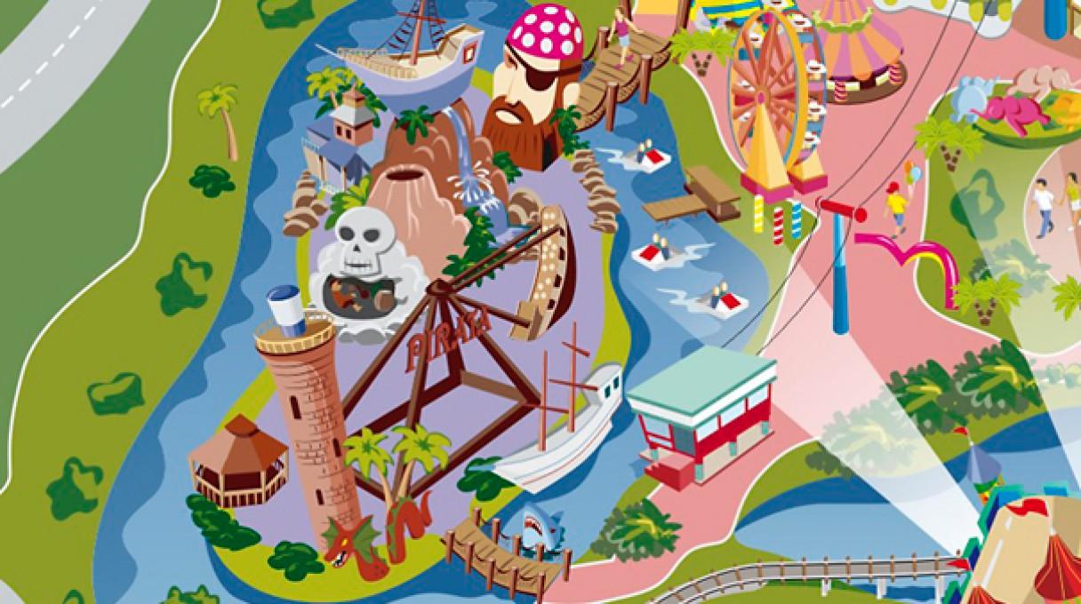 Beto Carrero World Map.