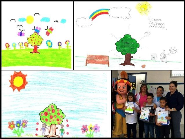 Beto Carrero World realiza plantio de árvores em escola da rede.