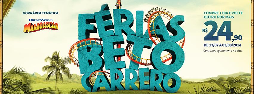Férias? Vem para o Beto Carrero World!.