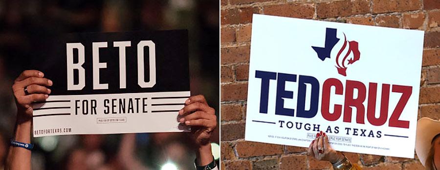 It\'s basic black vs. \'Tough as Texas\' in battle of logos.