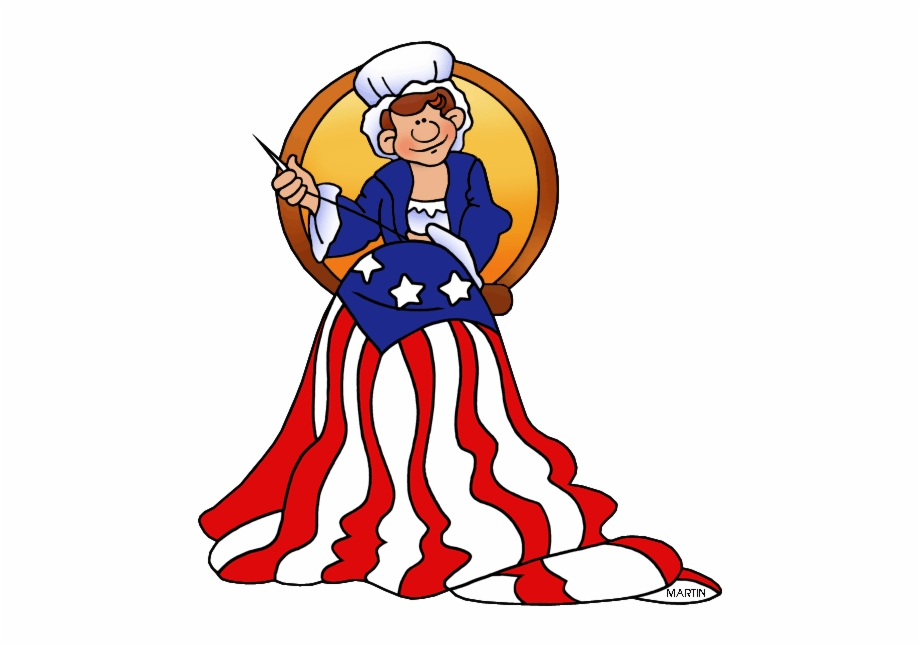 Betsy Ross Flag Clipart 4 By Michael.