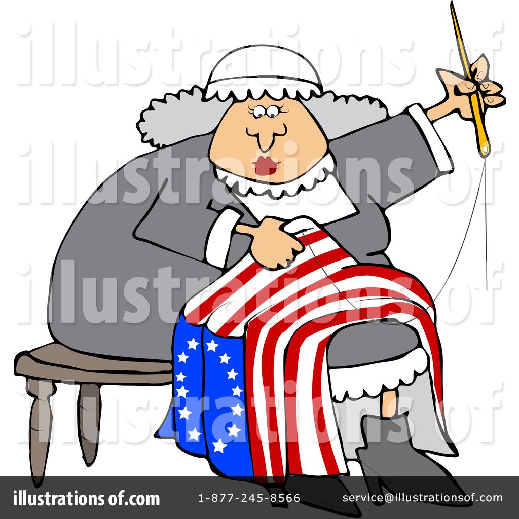 Betsy Ross Clipart #1409540.