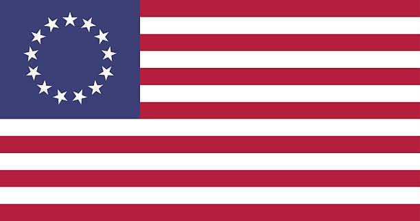 Best Betsy Ross Flag Illustrations, Royalty.