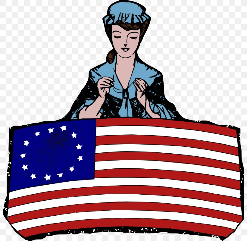 Flag Of The United States Betsy Ross Flag Clip Art, PNG.