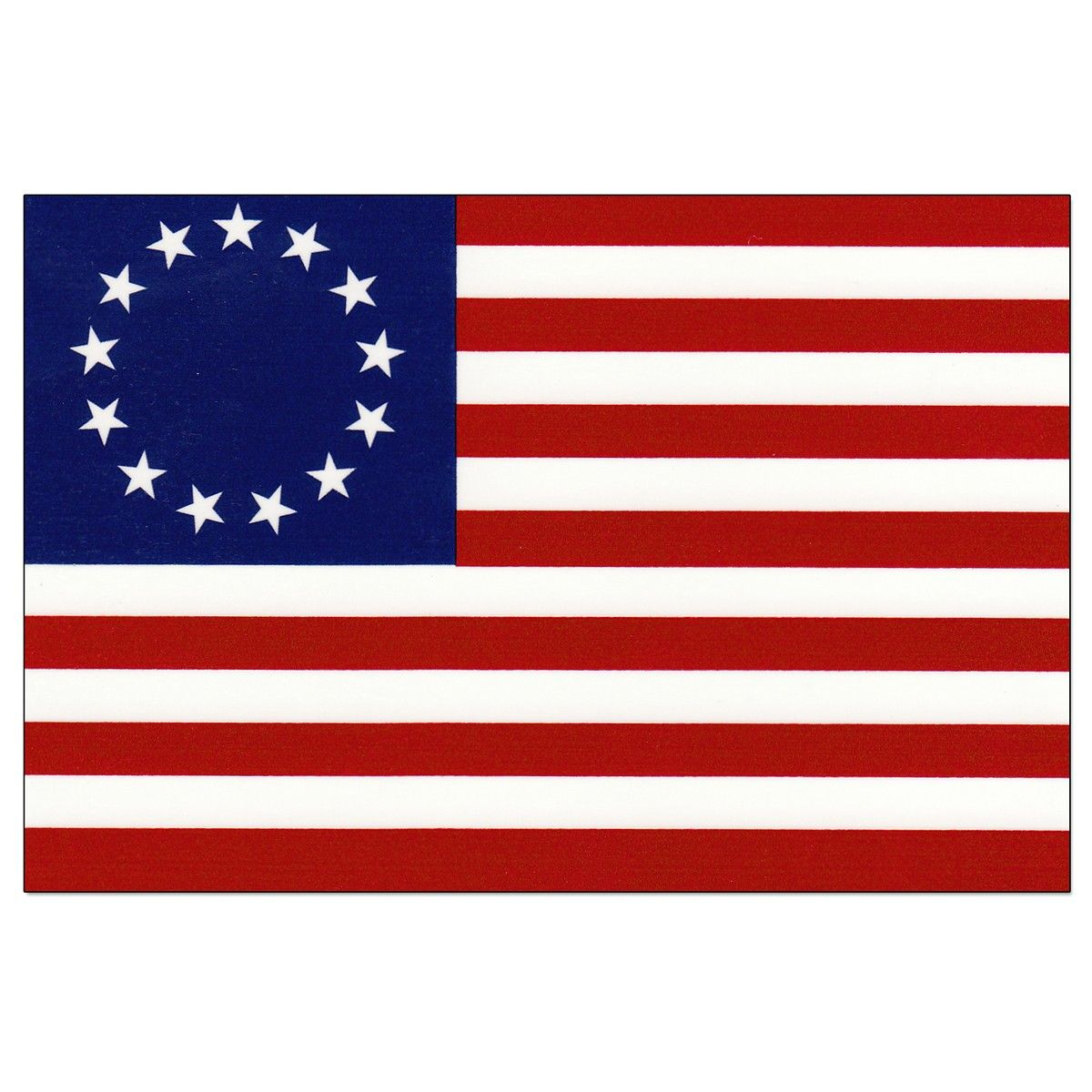 Betsy Ross Flag,June 14,1777 — Continental Congress adopts.