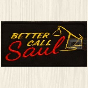 Details about Better Call Saul Logo Patch TV Series Walter Goodman Breaking  Bad Embroidered.