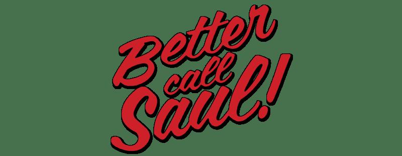 Better Call Saul Simple Logo transparent PNG.