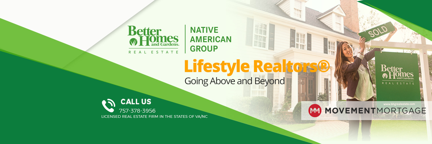 Better Homes and Gardens Real Estate Native American Group.