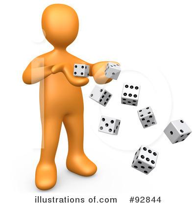 Gambler Clipart.
