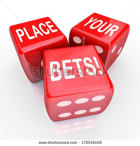 Betting clipart.