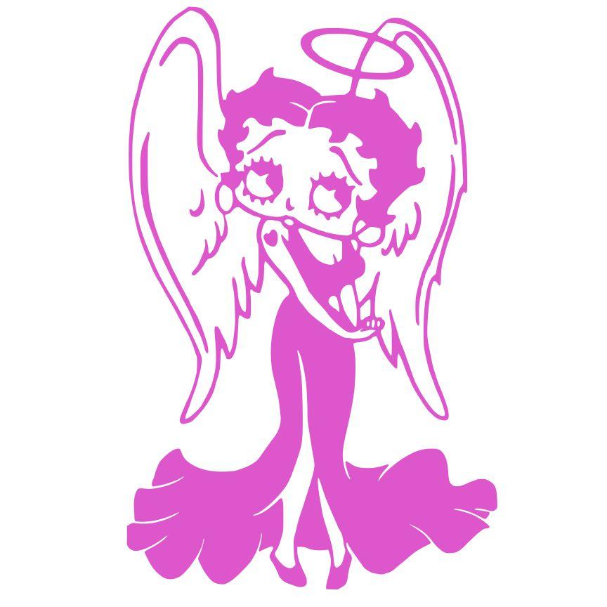 Betty Boop Angel.