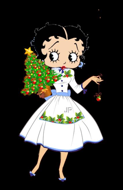 Betty Boop mom Christmas.
