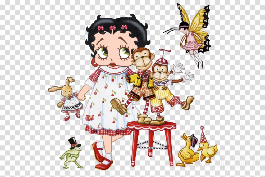 Betty Boop clipart.