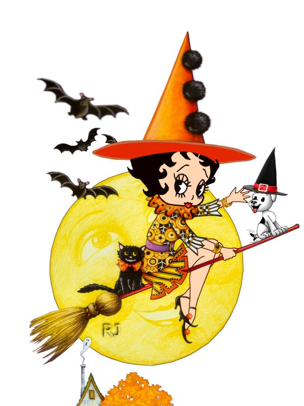 Halloween Witch Picture.