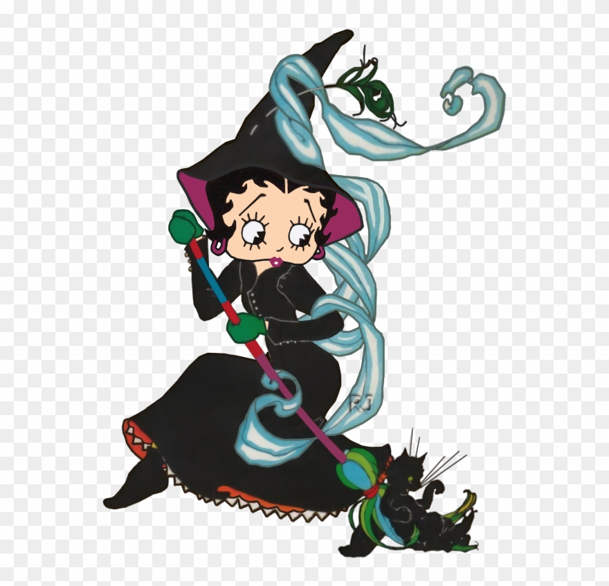Animated Betty Boop Halloween Clipart (#2422208).