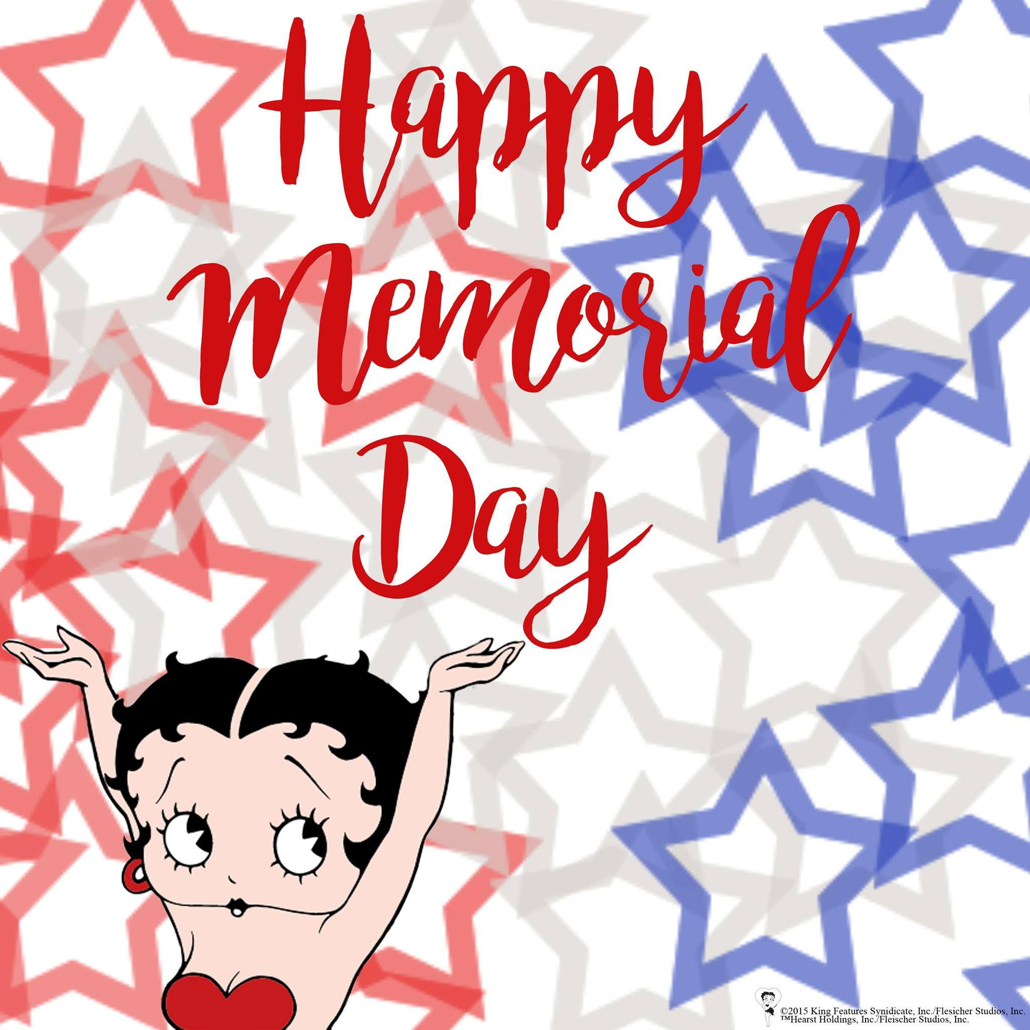 Happy Memorial Day with Betty Boop!.